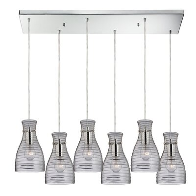 Cathina 6-Light Kitchen Island Pendant