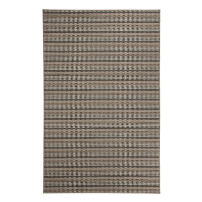 Britton Brown Indoor/Outdoor Area Rug Rug Size: 5 x 7