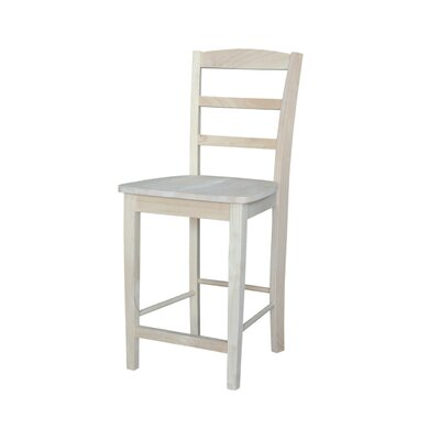 Canon 24 inch Bar Stool Finish: Unfinished
