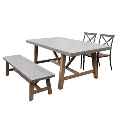 Favets 4 Piece Dining Set