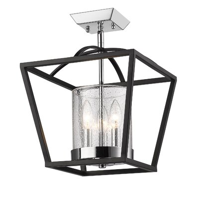 Boswell 3-Light Semi-Flush Mount