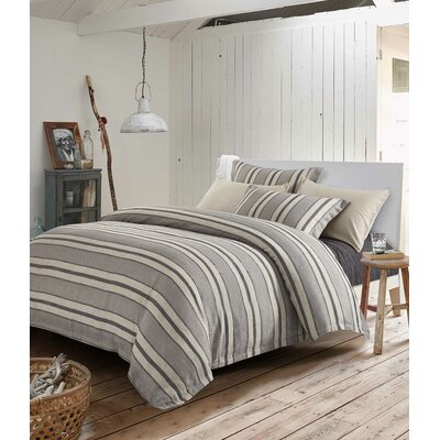 Donnery 3 Piece Duvet Cover Set Size: Queen