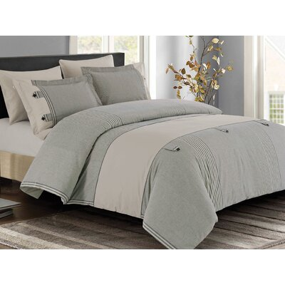 Chidley 3 Piece Duvet Cover Set Size: Queen
