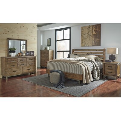 Desjardins Queen Platform Customizable Bedroom Set