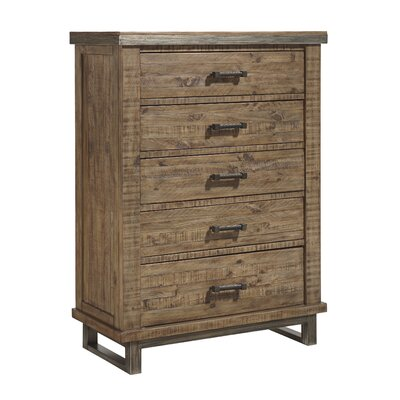Desjardins 5 Drawer Chest