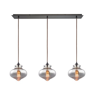 Betsy 3-Light Kitchen Island Pendant