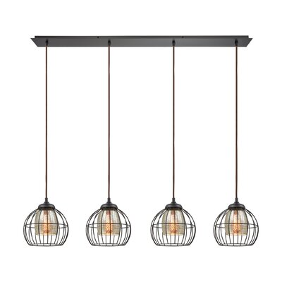 Dublin 4-Light Kitchen Island Pendant
