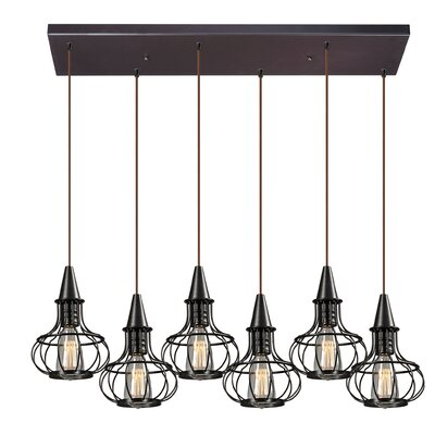 Dublin 6-Light Kitchen Island Pendant
