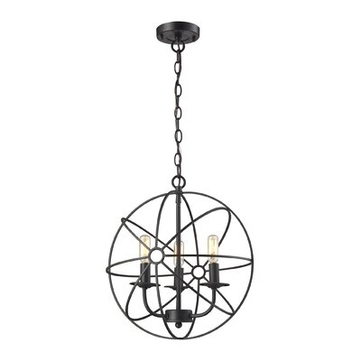 Dublin 3-Light Globe Pendant