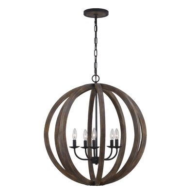 Flavien 5-Light Foyer Pendant