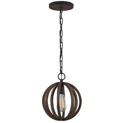 Flavien 1-Light Mini Globe Pendant