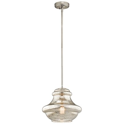 Jewell 1-Light Mini Pendant Finish: Olde Bronze