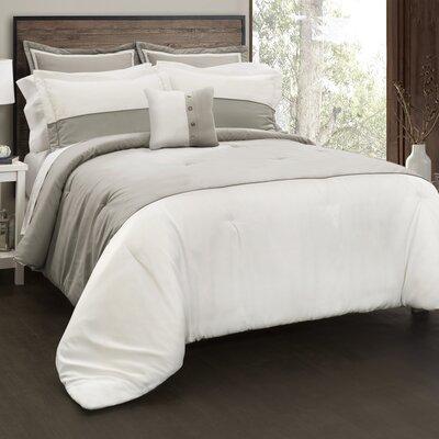 Austin 6 Piece Comforter Set Size: Full/Queen