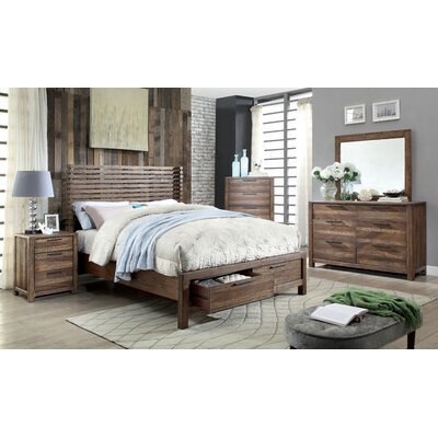 Alyssia Platform Customizable Bedroom Set