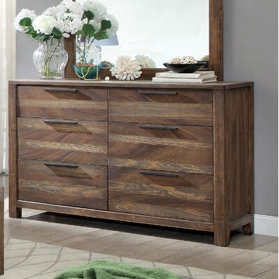 Alyssia 6 Drawer Dresser