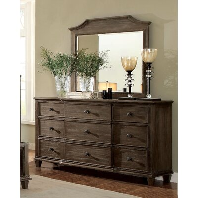 Arlington Dresser with Mirror