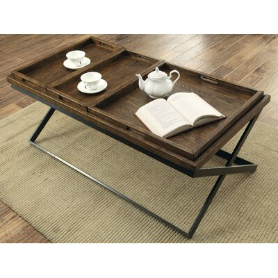Evansville Coffee Table with Tray Top