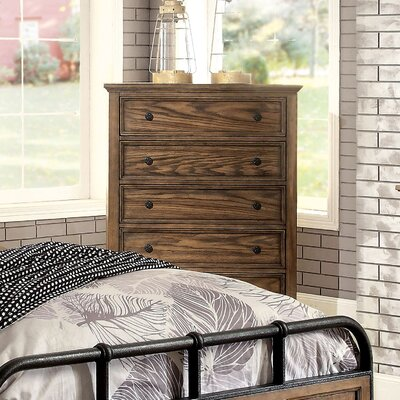 Zebadiah 5 Drawer Chest