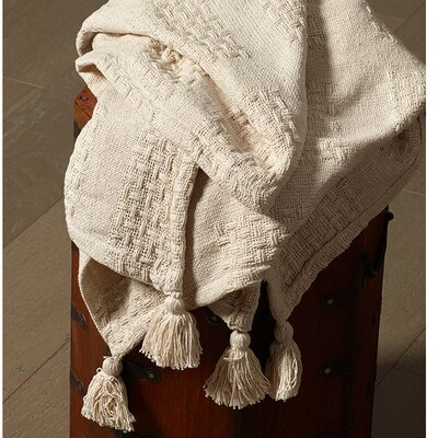 Avallon Patch Cotton Throw