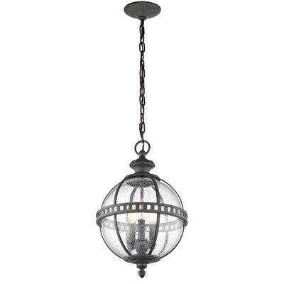 Bertille 3-Light Globe Pendant