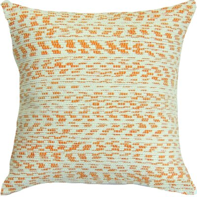 Floy Point Creamsicle Handcrafted Throw Pillow