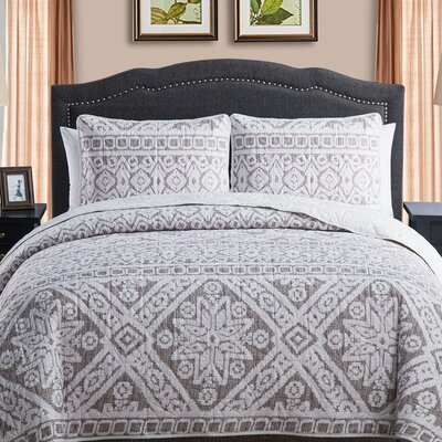 Bibeau Quilt Set Size: King