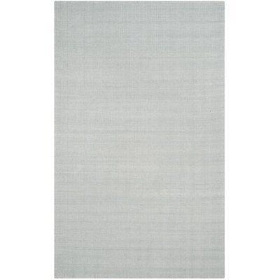 Laureldale Hand-Woven Light Blue Area Rug Rug Size: Runner 23 x 8