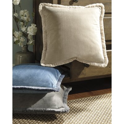 Bouchette Throw Pillow Color: Gray