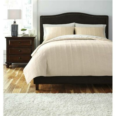 Bouille Coverlet Comforter Set Size: King