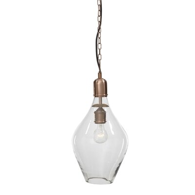 Brule 1-Light Mini Pendant