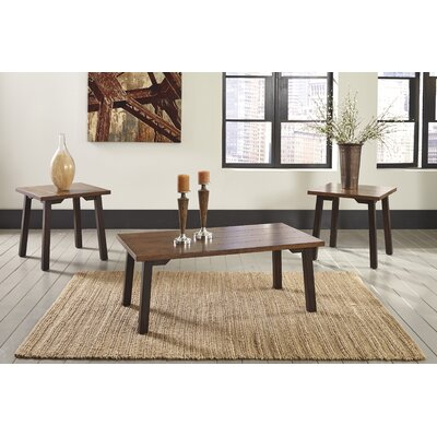 Lewistown 3 Piece Coffee Table Set