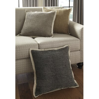 Lierre Throw Pillow Color: Charcoal