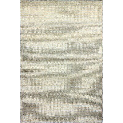 Deaver Hand-Knotted Natural Area Rug Rug Size: 5 x 76