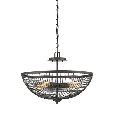 Nantes 4-Light Bowl Pendant