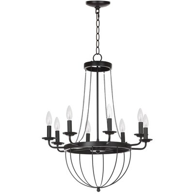Lawrenceville 8-Light Candle-Style Chandelier