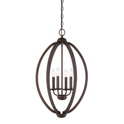 Eura 4-Light Foyer Pendant