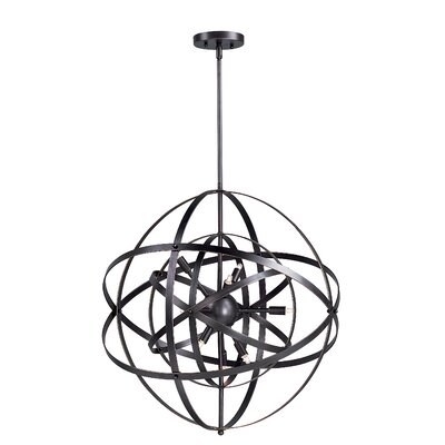 Hambrick 6-Light Pendant Finish: Bronze Rupert