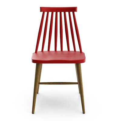 Otis Side Chair Finish: Red