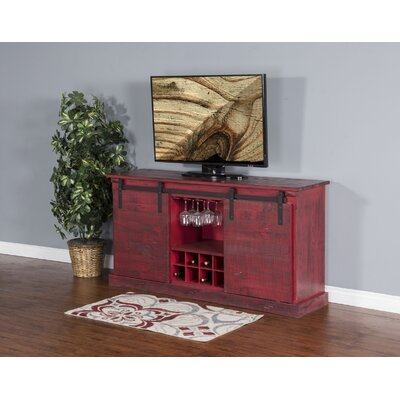 Joseluis 65 TV Stand Color: Burnt Red