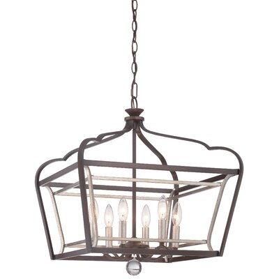 Evangeline 6-Light Foyer Pendant Light