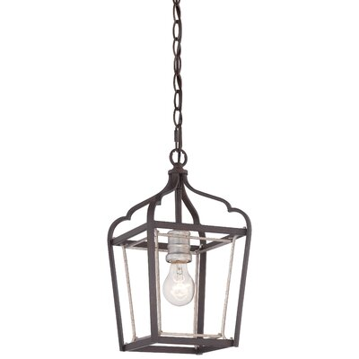 Evangeline 1-Light Foyer Pendant