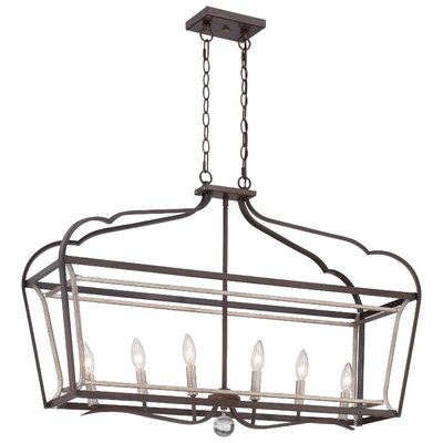 Evangeline 6-Light Kitchen Island Pendant