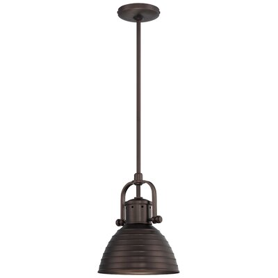 Ferrand 1-Light Mini Pendant Finish: Harvard Court Bronze