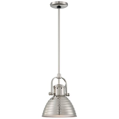 Ferrand 1-Light Mini Pendant Finish: Polished Nickel