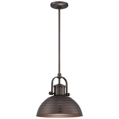 Filomena 1-Light Inverted Pendant Finish: Harvard Court Bronze