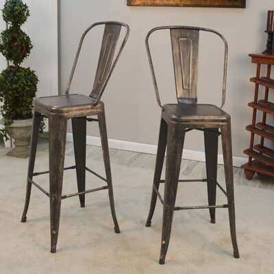 Cerisier 30 Bar Stool Finish: Antique Copper