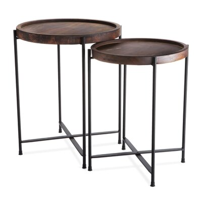 Harvey 2 Piece Nesting Table Set