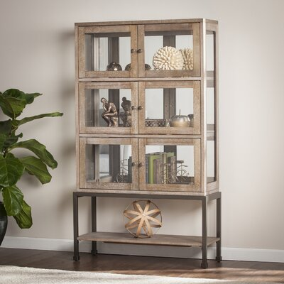 Pantin Lighted Curio Cabinet