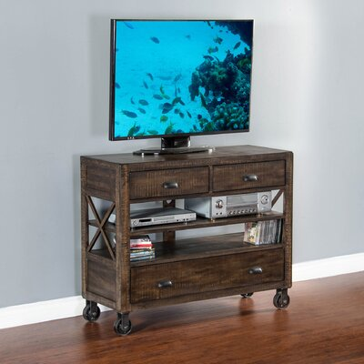 Osage 3 Drawer Media Chest
