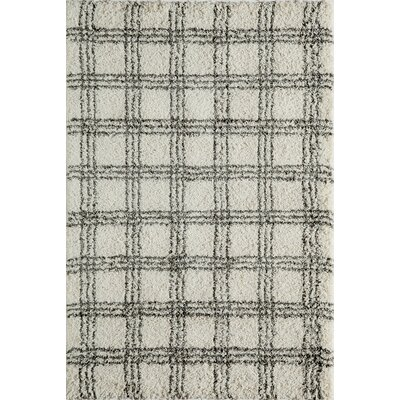 Opal�Ivory Area Rug Rug Size: Rectangle 93 x 126